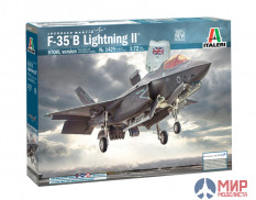 1425 Italeri  самолёт  F-35 B Lightning II STOVL version  (1:72)