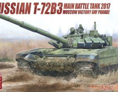 UA72102 Modelcollect 1/72 Russian T-72B3 Main Battle tank 2017 Moscow Victory Day