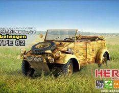H35002 HERO Hobby 1/35 German Pkw Typ k1 Kubelwagen Type 82