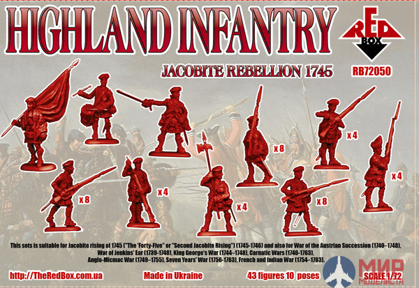 Red Box French infantry 1:72