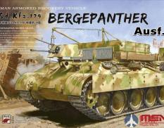 SS-015 Meng Model German Armored Recovery Vehicle Sd.Kfz.179 Bergepanther Ausf.A