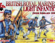 RB72022 Red Box 1/72 British Royal Marine Light Infantry