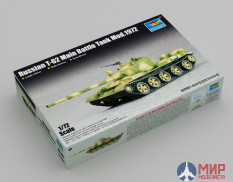 07147 Trumpeter танк  Russian T-62 Main Battle Tank Mod.1972  (1:72)