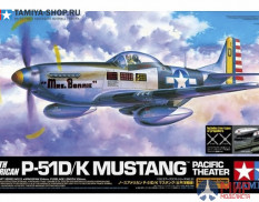 60323 Tamiya 1/32 P-51D/K Mustang - Pacific Theater