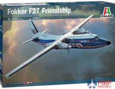 1430 Italeri самолёт  Fokker F27 Friendship  (1:72)