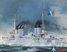 86505 Hobby Boss French Navy Pre-Dreadnought Battleship Condorcet 1/350