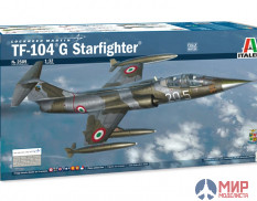 2509 Italeri самолёт  TF-104 G Starfighter  (1:32)