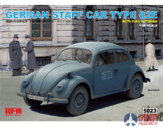 RM-5023 Rye Field Models 1/35 GERMAN STAFF CAR TYPE 82E