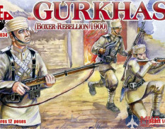 RB72034 Red Box 1/72 Gurkhas