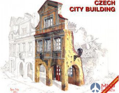 35018 MiniArt 1/35 Чешское городское здание Czech city building
