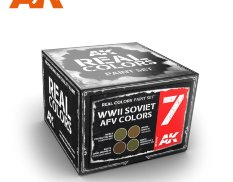rcs007 AK-Interactive RCS007 WWII Soviet AFV Colors [Set]