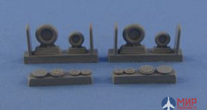 Ns72073-b North Star Models 1/72 Wheels set for Su-15 TM Light series