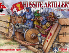 RB72038 Red Box 1/72 Hussite Artillery  15th century