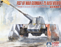 UA72115 Modelcollect 1/72 Fist of War German WWII E75 Ausf.vierfubler