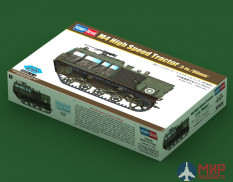 82920  Hobby Boss тягач  M4 High Speed Tractor (3-in./90mm)  (1:72)