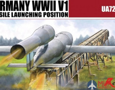 UA72033 Modelcollect 1/72 Germany WWII V2 Missile launching position 2 in 1
