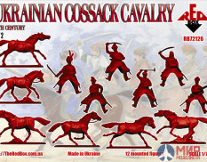 RB72126 Red Box 1/72 Ukrainian Сossack Cavalry. 16 cent. Set 2