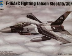03911 Trumpeter 1/144 Самолет F-16A/C Fighting Falcon Block 15/30/32
