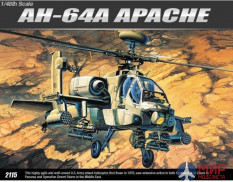 12262 Academy 1/48 Helicopter AH-64A Apache