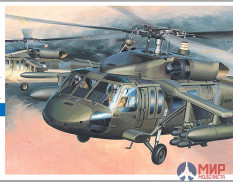00433 Hasegawa Вертолет UH-60a BLACK HAWK 1/72