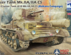 CB35151 Bronco Models British Cruiser Tank A10 Mk. IA/IA CS Cruiser Tank Mark IIA/IIA CS