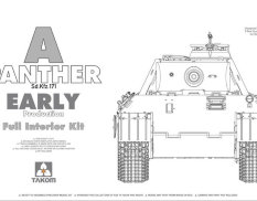 2097 Takom 1/35 Panther Ausf. A early prod. (full interior)