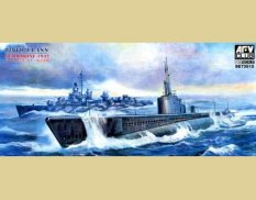 SE73510 AFV Club 1/350 Japanese submarine GATO Japanese Navy 1942