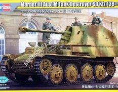 80169 Hobby Boss САУ Marder III Ausf.M Tank Destroyer Sd.Kfz.138 - Early 1/35