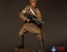 CHM-54015(M) of the Chronos Miniatures 54mm Sergeant of the Indian infantry regiment machine gun Lewis,1916-18 SG