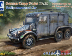 CB35220 Bronco Models  German Krupp Protze Kfz. 19 Radio Command Car  (1:35)