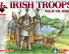 RB72044 Red Box 1/72 War of the Roses 5. Irish troops