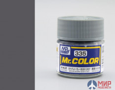 C335 Gunze Sangyo (Mr. Color) Paint urethane acrylic Mr. Color 10ml MEDIUM SEAGRAY BS381C/637