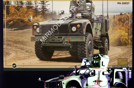 PH35027 Panda Hobby 1/35 M1240A1 MRAP AII-Terrain Vehicle (M-ATV)
