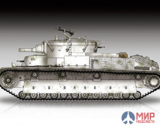 07151 Trumpeter Soviet T-28 Medium Tank (Riveted) 1/72
