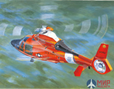 05107 Trumpeter 1/35 Вертолет US Coast Guard HH-65C Dolphin