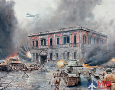 6112 Italeri Набор миниатюр BATTLE of BERLIN - BATTLE SET (1:72)