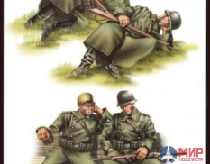 84420 Hobby Boss фигуры  GERMAN INFANTRY-Taking a rest  (1:35)