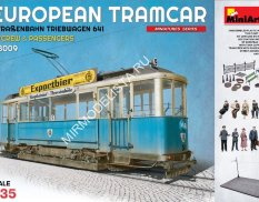 38009 MiniArt 1/35 European tram passengers and crew