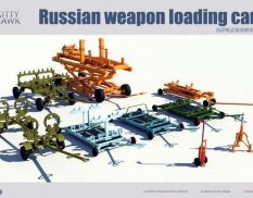 KH80161 Kitty Hawk 1/48 Russian weapon loading cart