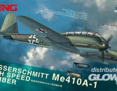 LS-003 Meng Model 1/48 Самолет Messerschmitt Me 410A-1 High Speed Bomber