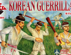 RB72013 Red Box 1/72 Korean Guerrillas