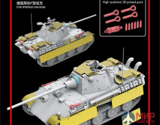 RM-2008 Rye Field Model Upgrade Solution Series for Panther Ausf.F