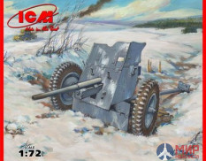 72251 ICM 1/72 Пушка 3,7 см Pack 36 WWII GermanAnti-Tank Gun