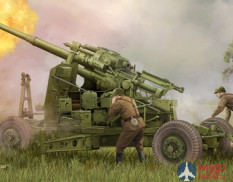 02349 Trumpeter 1/35 Soviet anti-aircraft gun KS-19M2 100 mm.