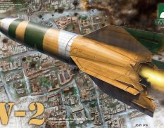 2075 Takom 1/35 WWII German Single Stage Ballistic Missile V-2