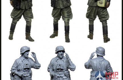EM-35174 Evolution Miniatures German SS officer. WW2