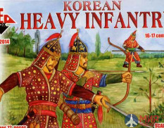 RB72014 Red Box 1/72 Korean Heavy Infantry