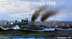 05333 Trumpeter 1/350 Корабль HMCS Huron Destroyer 1944