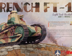 TS-011 Meng Model 1/35 Французский легкий танк French FT-17 Light Tank (Riveted Turret)