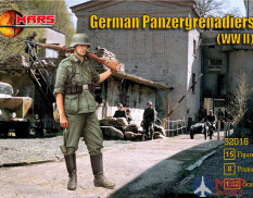 MR32018 Mars 1/32 German Panzergrenadiers WWII